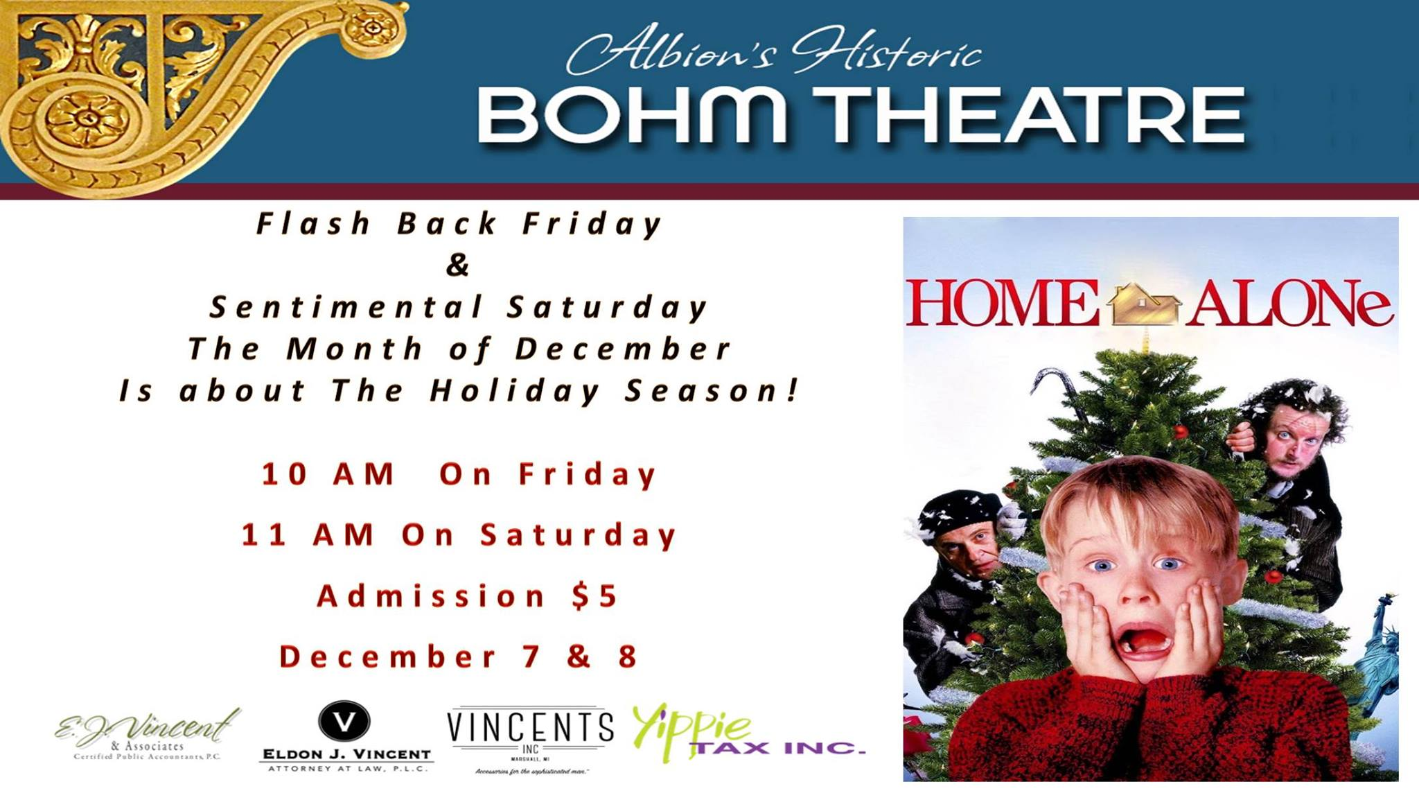 Home Alone 1990 Movie Downtown Albion