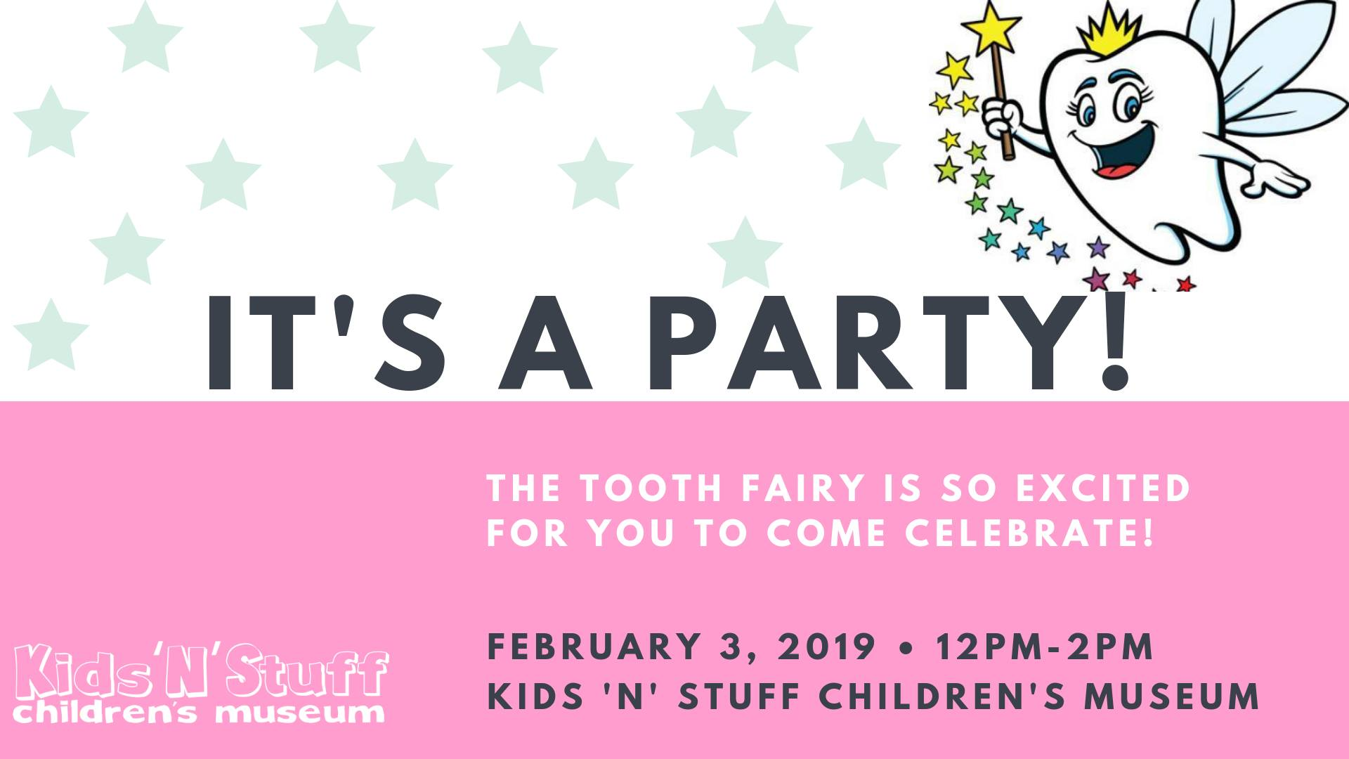 Tooth Fairy Birthday Party at Kids 'N' Stuff - Downtown Albion